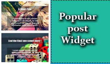 Popular post novo estilo blogger 2015