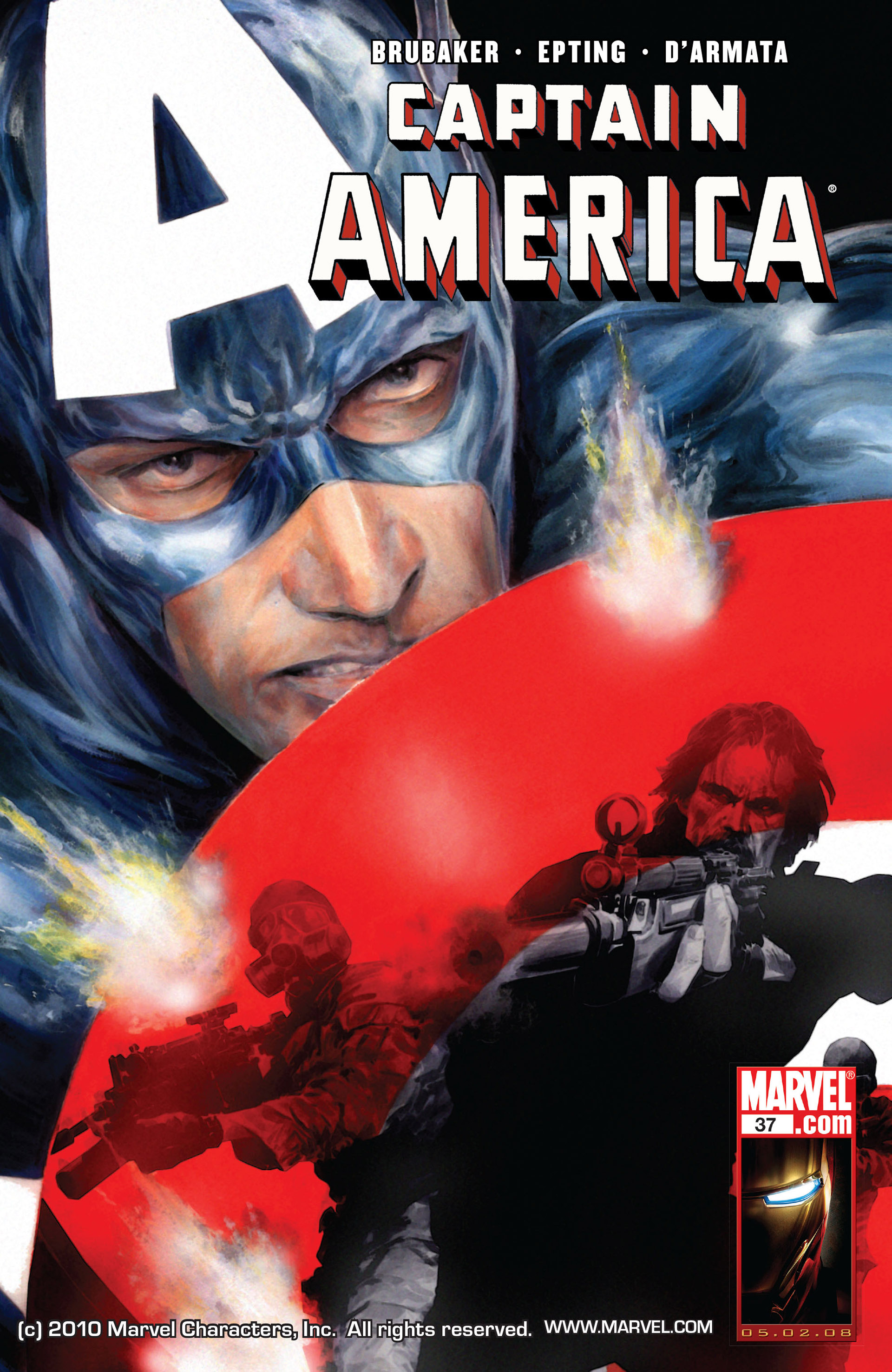 Captain America (2005) Issue #37 #37 - English 1