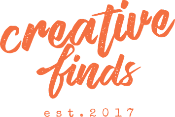 SHOP THE 'creative finds' ONLINE STORE