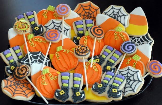 decorated halloween cookies - Decorating Halloween Cookies