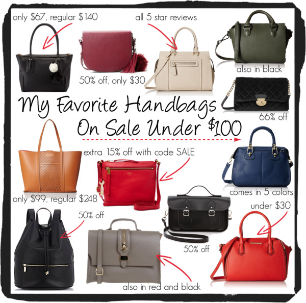 Neiman Marcus Perri Faux-Leather Satchel Bag, Black • Neiman Marcus • $66.50  Flap Cross-Body Bag • MANGO • $29.99  MG Collection Kalea Satchel • MG Collection • $39.99  Steve Madden Bwilla Mini Cross-Body Convertible Top-Handle Bag • Steve Madden • $54.80–68  Calvin Klein Velvet Shoulder Bag • Calvin Klein • $50.34–50.63   Cole Haan Everett Large Tote,Dark Vachetta • Cole Haan • $99  Fossil Gifting Leather Crossbody • Fossil • $71.99   Cambridge Satchel Black • The Cambridge Satchel Company • $87.50  MG Collection Marissa Top-Handle Doctor Shoulder Bag • MG Collection • $16.40–35.50  Deux Lux Elle Large Backpack-Black • Deux Lux • $79    TUSCANY LEATHER Handbags • $89  Aldo Halifax Top-Handle Bag • Aldo • $30.21–39.99   Tommy Hilfiger Alexa Convertible Medium Shopper • Tommy Hilfiger • $80.99