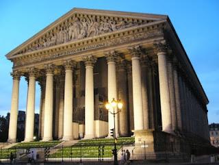 Iglesia de la Madeleine de París