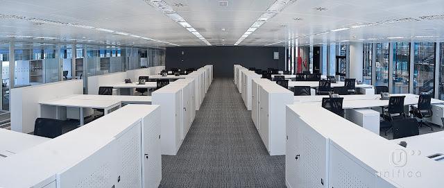 Diseño de oficina Altura Markets