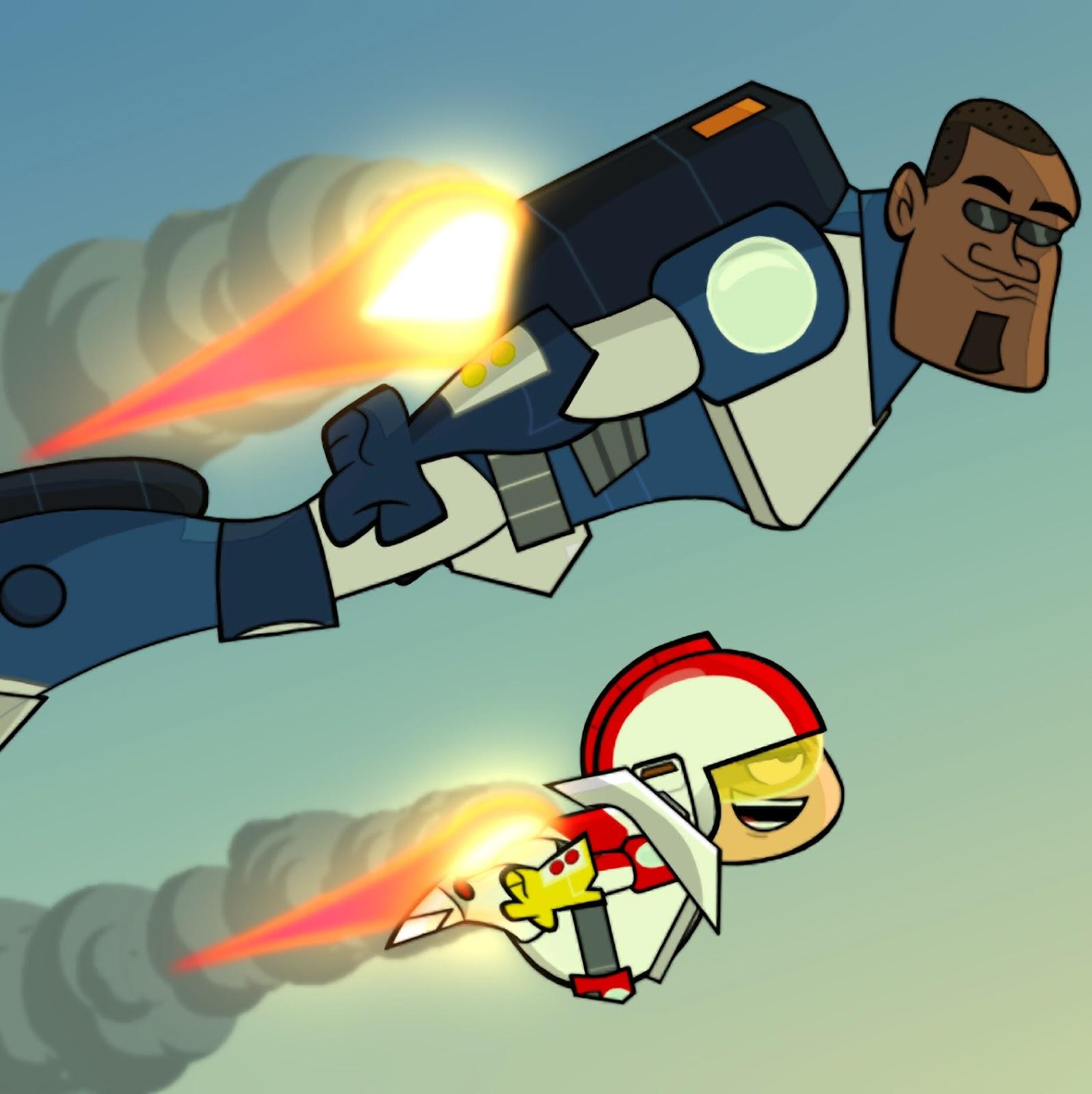 Kick en cohete