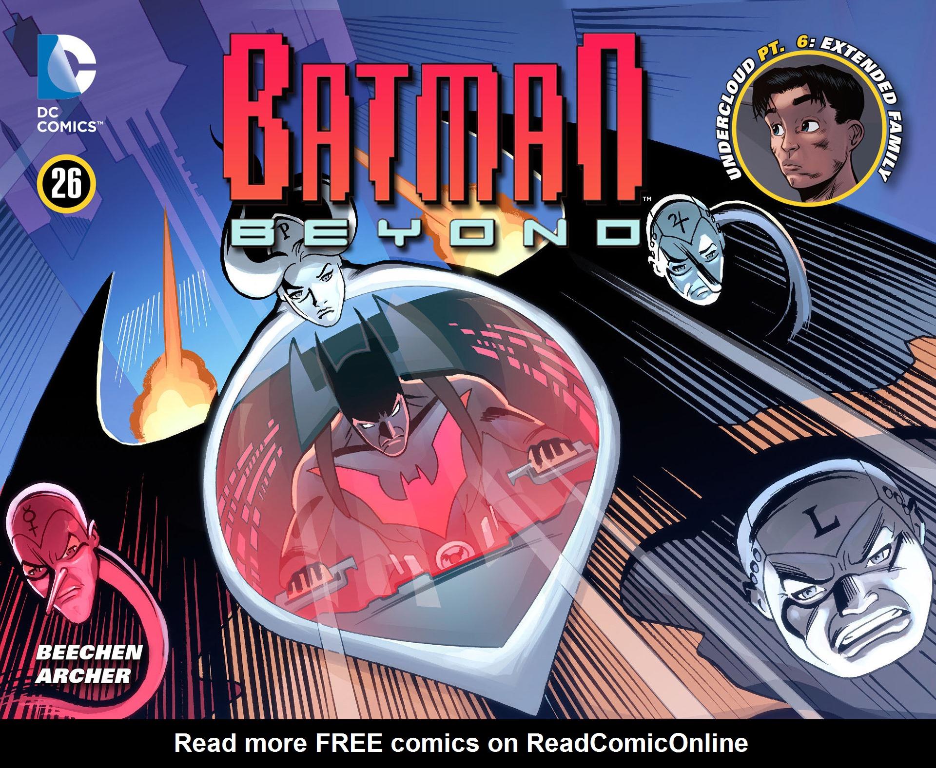 Batman Beyond (2012) Issue #26 #26 - English 1