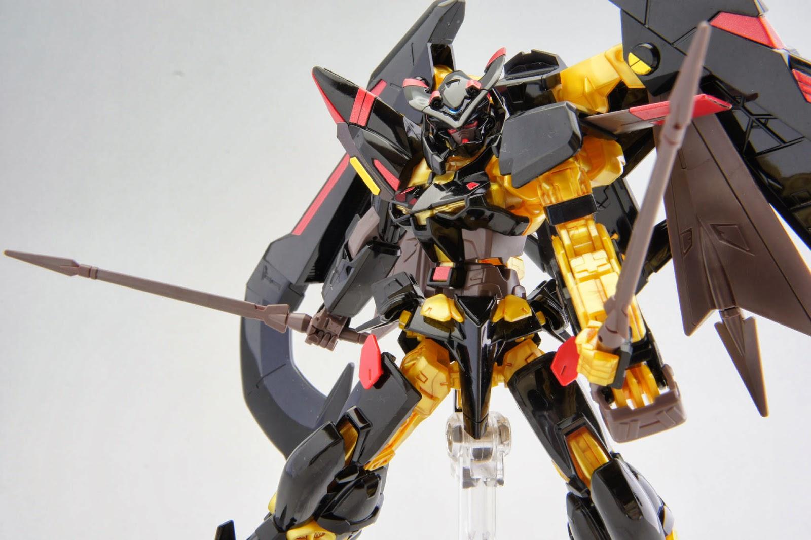 GUNDAM GUY: HG 1/144 Gundam Astray Gold Frame Amatsu Mina - Review ...