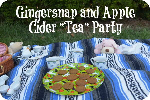 gingersnap tea party