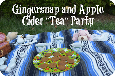 gingersnap tea party
