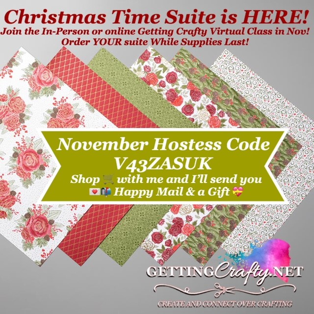 November Hostess Code - V43ZASUK