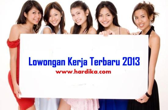 Lowongan Kerja di Palembang Bulan Juni 2013 www.hardika.com
