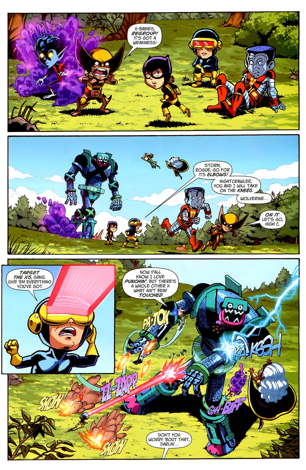 Read online X-Babies comic -  Issue #2 - 20