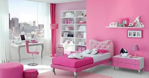 panduan bangunan rumah contoh kamar tidur pink selalu