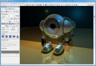3DCrafter  v8.2.7: Program Untuk Model 3D