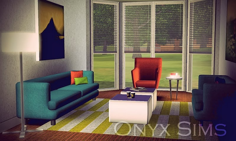 My sims 3 blog new dining living room set patterns by for Living room ideas sims 3