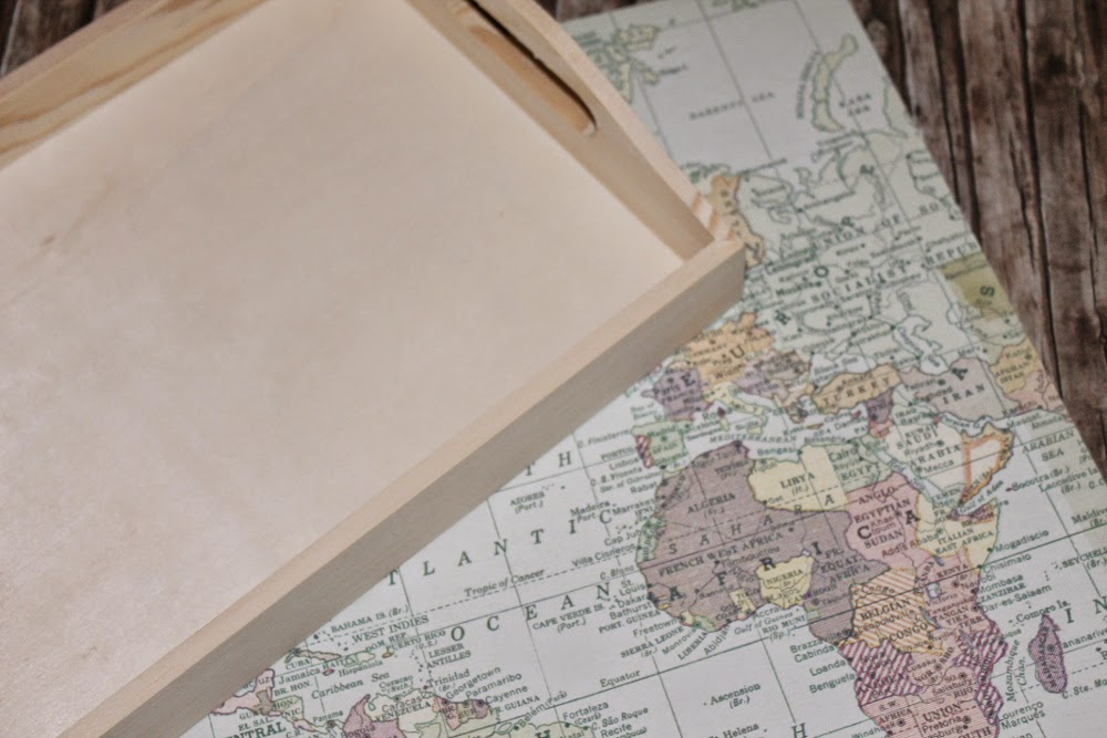Mit Weltkarte basteln