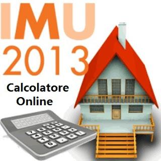 Calcolo IMU 2013 - calcolatore online