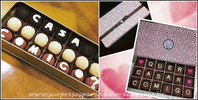 brigadeiros e chocolates
