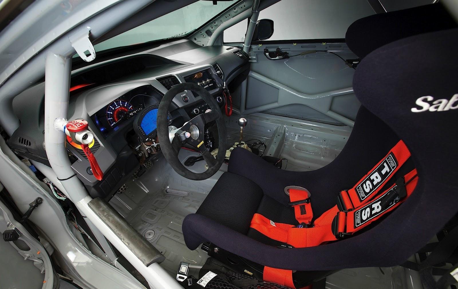 Honda Civic Si Coupe Compass 360 Racing Hpd Sema 2012 Car Design And Mechanical Engineering