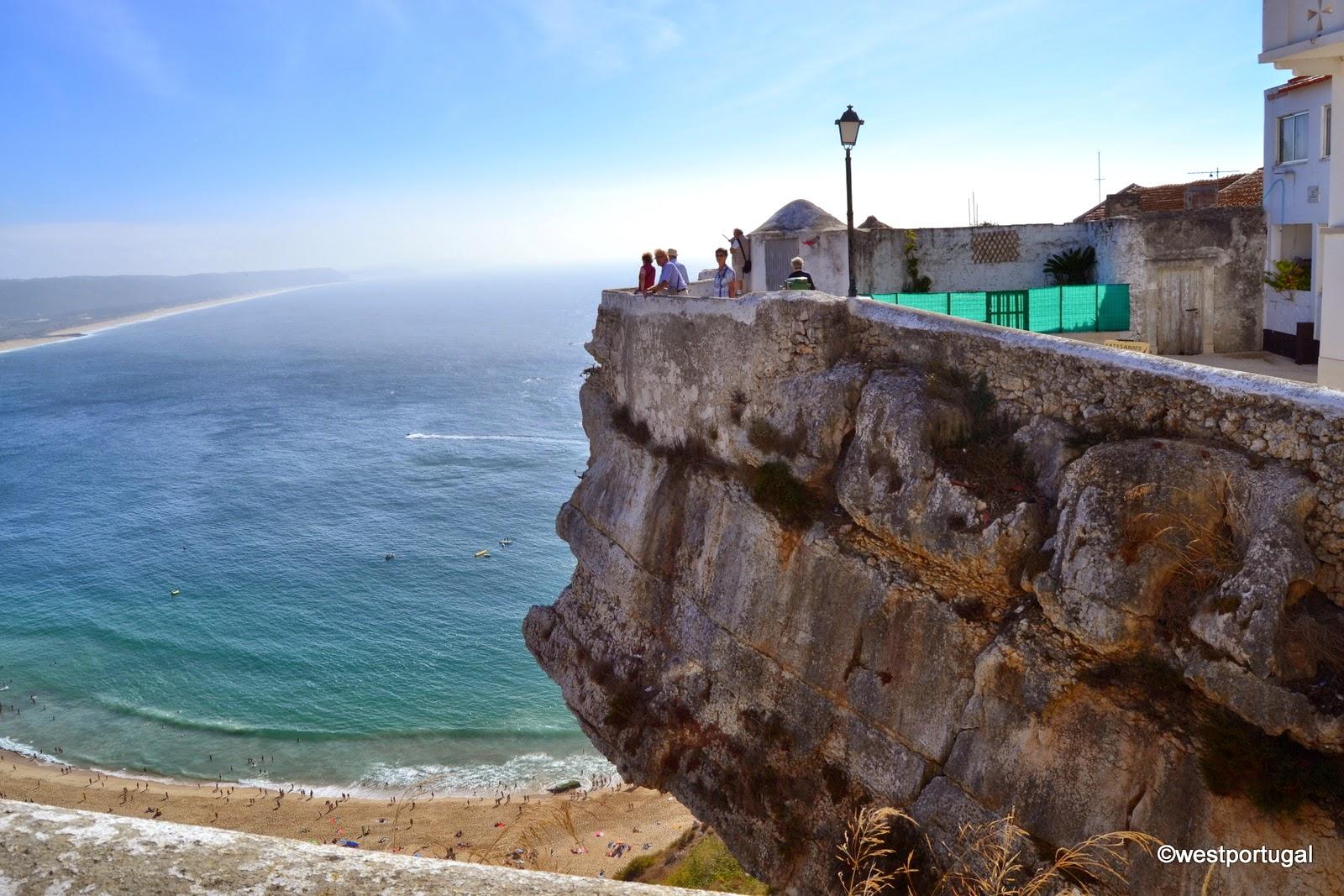 португальские города, Назаре, скалы