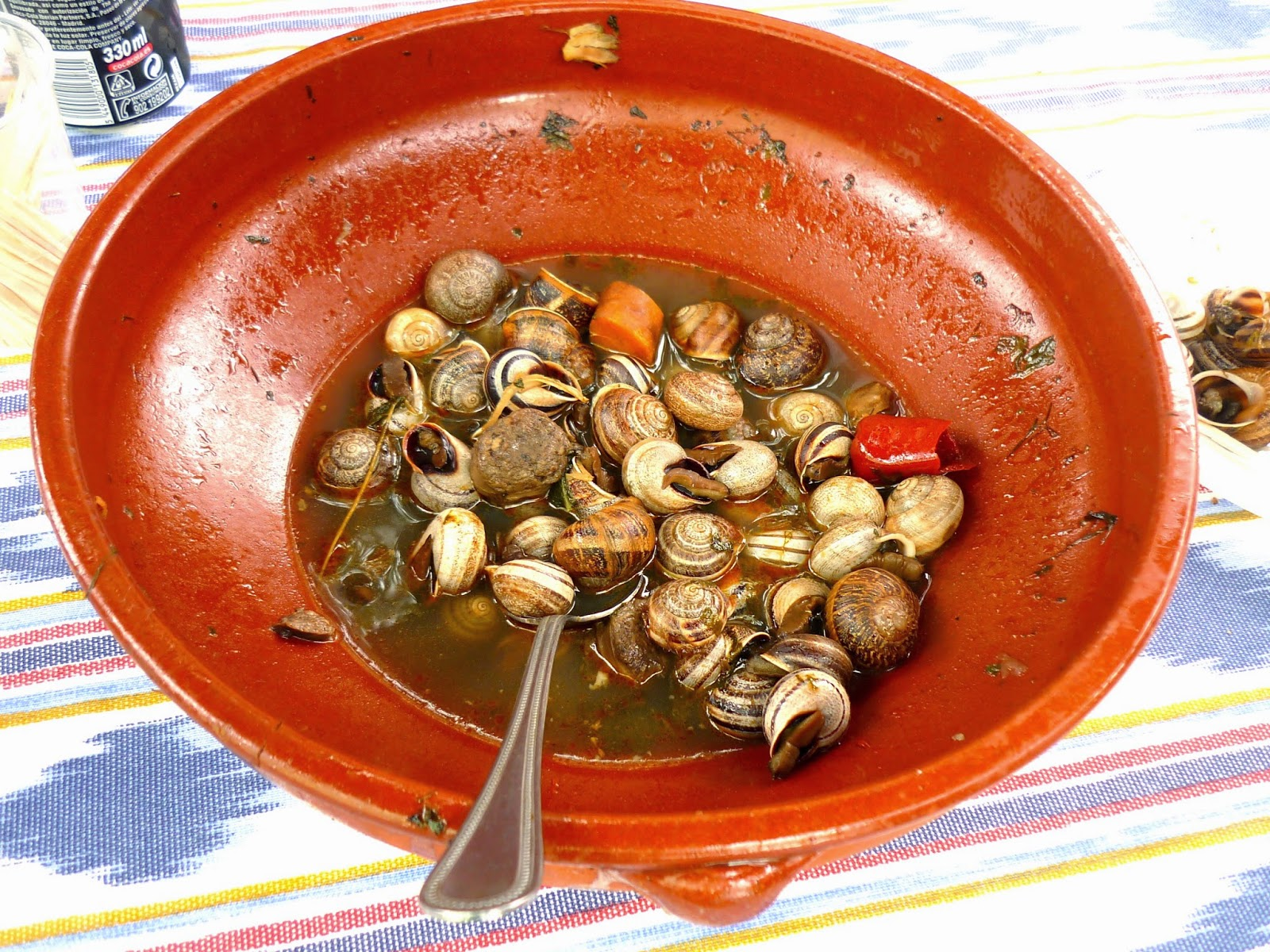 receta caracoles