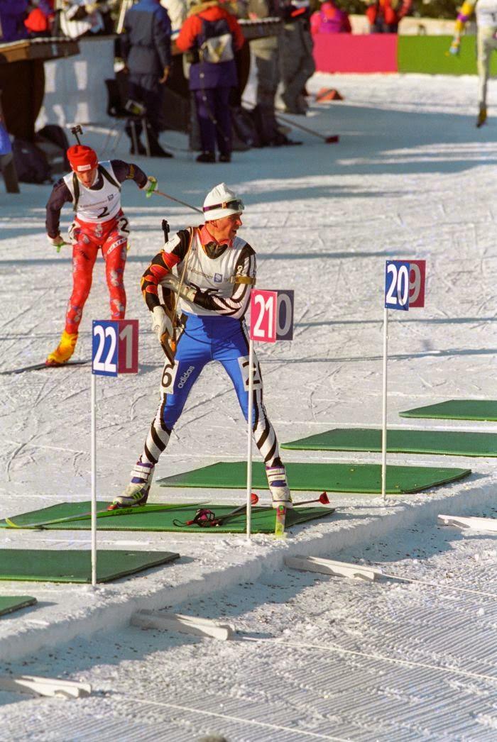 Олимпийский чемпион биатлонист Сергей Тарасов
