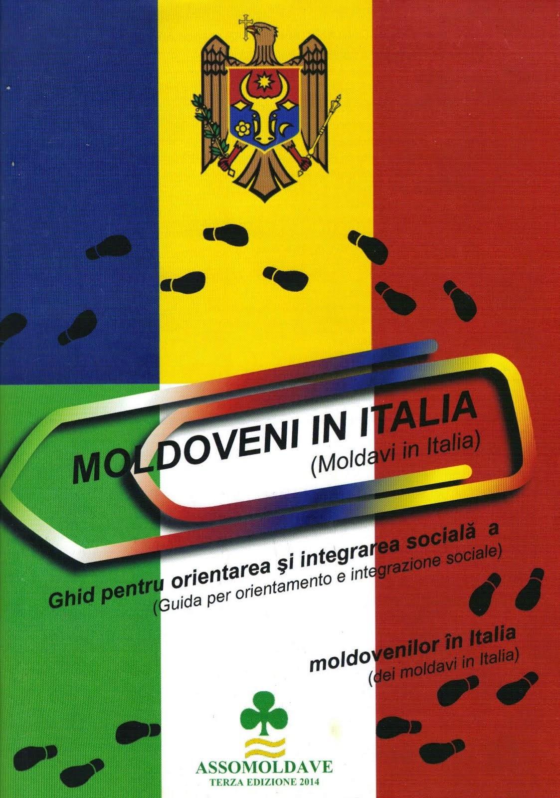 """GUIDA- III EDIZIONE  """"MOLDAVI IN ITALIA"""""""