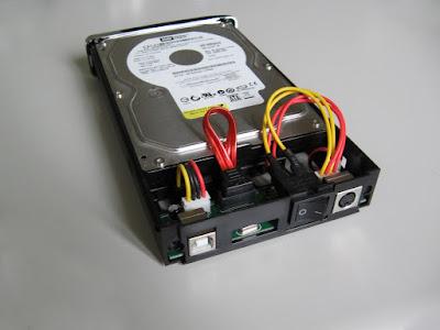 Nilox Hdisk S3 - box per hard disk esterni - particolare cablaggi