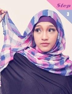 krsi+pm3 Cara Memakai Jilbab Pasmina Kreasi Sehari hari