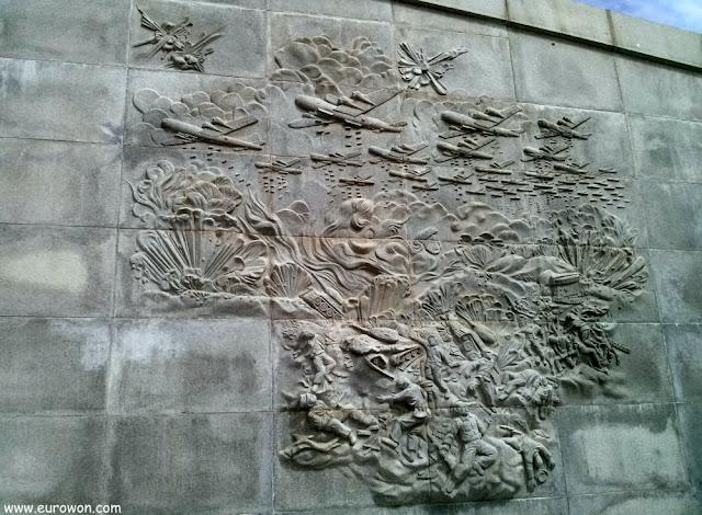 Relieve de la batalla de Dabudong y Waegwan en Daegu