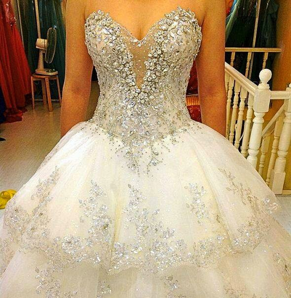 Extravagant Princess Wedding Dresses : World s most expensive bridal dresses price in million