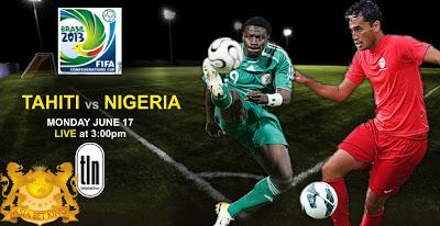 Prediksi Skor Nigeria VS Tahiti Piala Confederations 18 Juni 2013