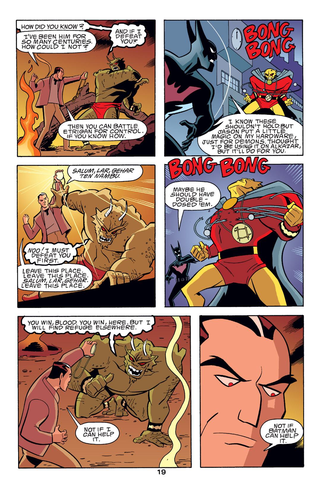 Batman Beyond [II] Issue #14 #14 - English 20
