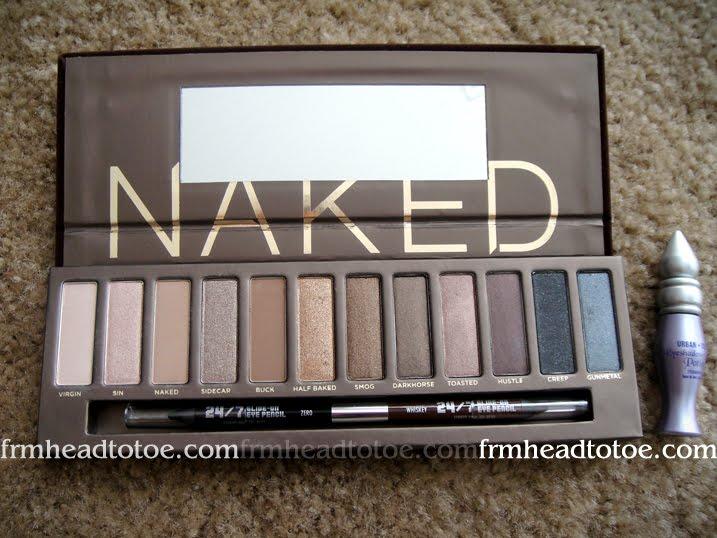 Urban Decay Naked II, NAKED 2 Eyeshadow Palette Original