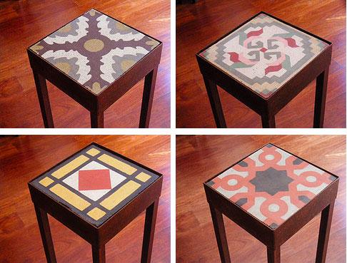 Pisos calc reos dise amos mesas y muebles en madera for Muebles industriales madera y hierro