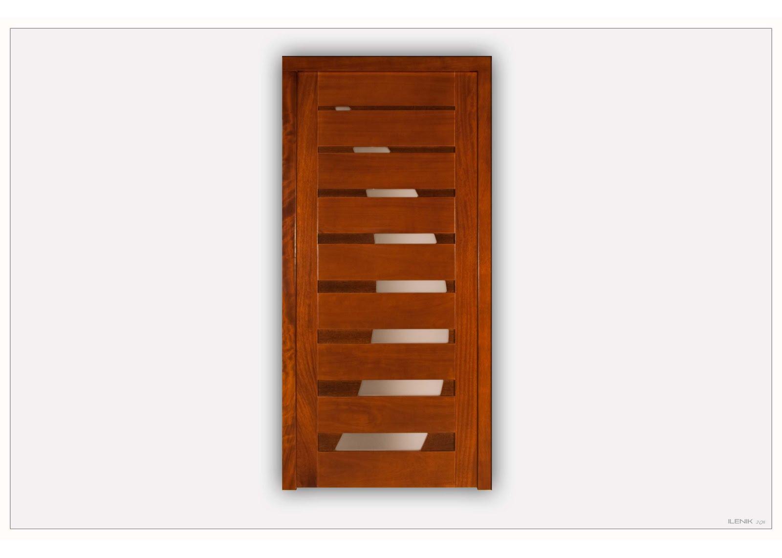 Lloes s l colecci n de portones stil for Portones de madera modernos