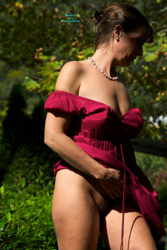 Voyeurweb Vanessa B Red Dress