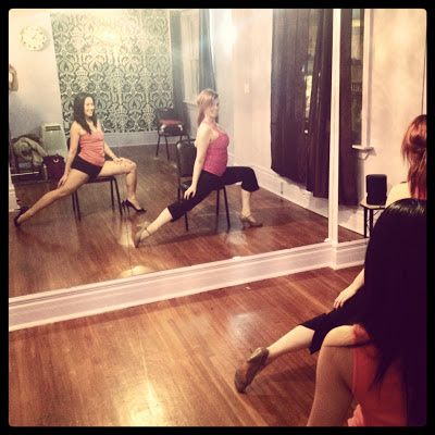 pole dancing Brass Vixens Toronto