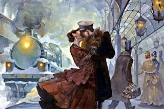 Встреча Вронского и Анны Карениной на вокзале