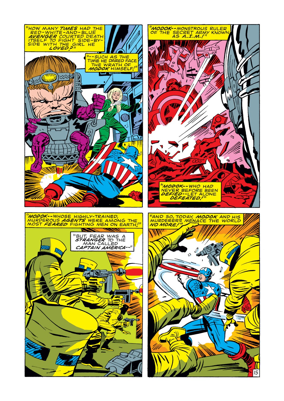 Captain America (1968) Issue #112 #26 - English 16