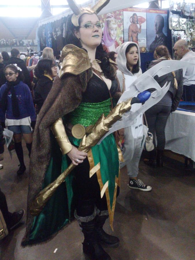 Loki Gender Swap Cosplay