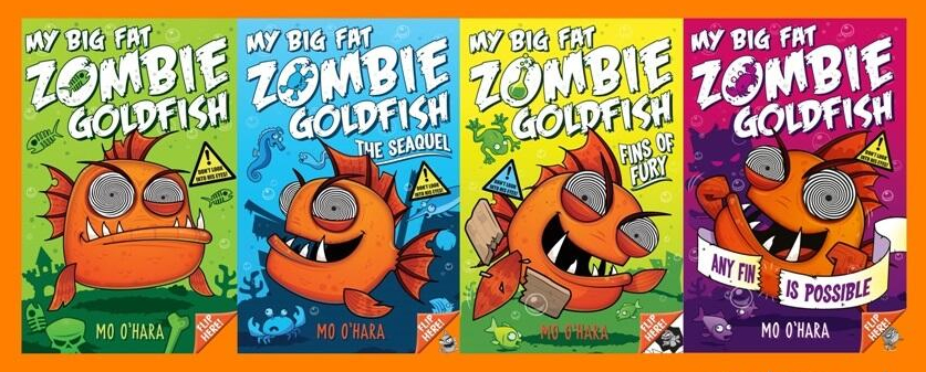 space on the bookshelf 3d review my big fat zombie goldfish