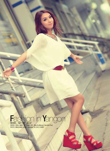 Nay Chi Linn Lei - Myanmar Model Girls