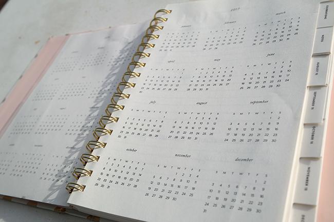 Kate Spade Calendar Planner : Kate spade planner review mommy kumquat life