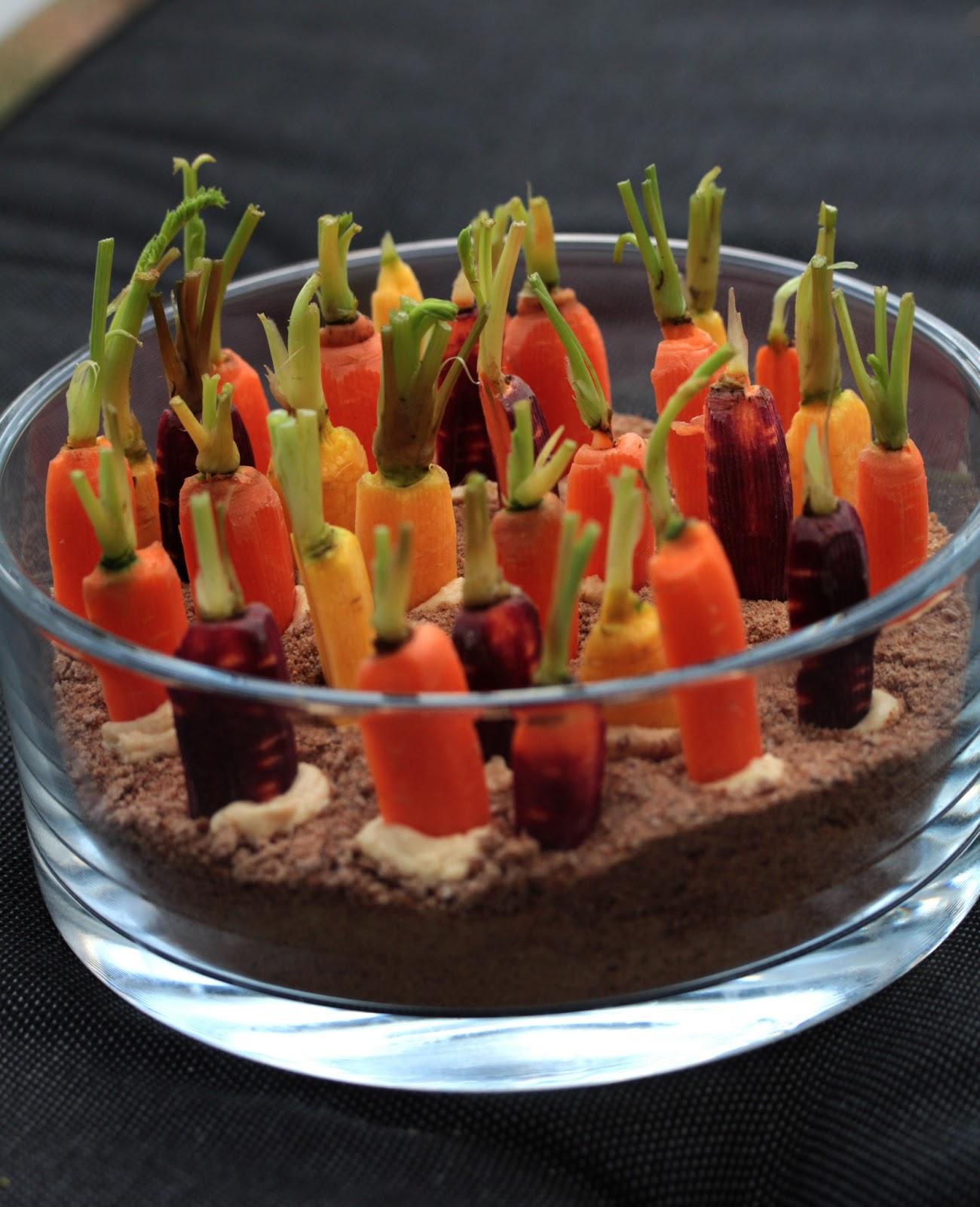 On dine chez nanou pour l 39 ap ritif un potager de for Decoration de plat avec des legumes