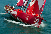 CAMPER with Emirates Team New Zealand. (vor )