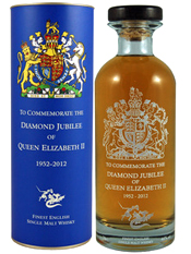 The English Whisky Company Diamond Jubilee Commemorative Bottling