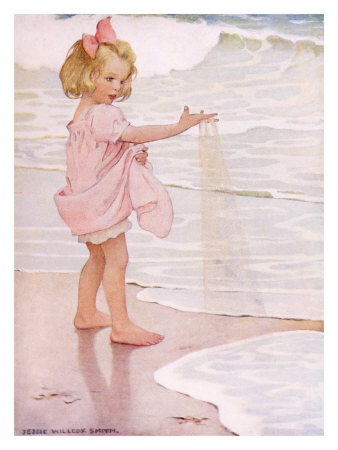 charlie smith surf. Jessie Wilcox Smith 1863-1935.