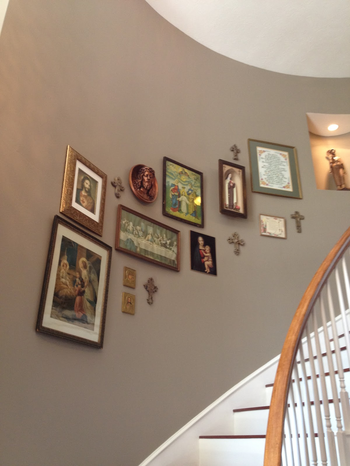 Catholic home decor a little heaven at home