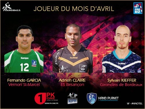 Fernando García en terna para mejor jugador de D2 francesa | Mundo Handball