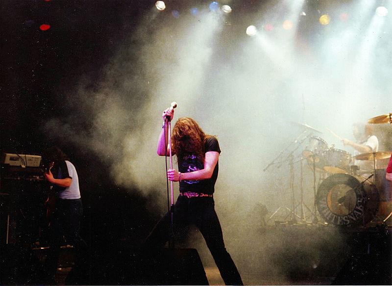 Whitesnake en el Hammersmith Odeon de Londres, 1981
